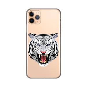 Maska Silikonska Print Skin za iPhone 11 Pro Max 6.5 Mad Tiger