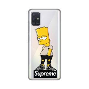Maska Silikonska Print Skin za Samsung A515F Galaxy A51 Bart Simpson Supreme