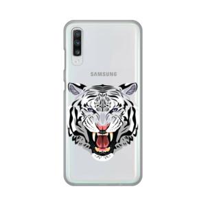 Maska Silikonska Print Skin za Samsung A705F Galaxy A70 Mad Tiger