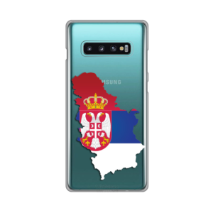 Maska Silikonska Print Skin za Samsung G975 S10 Plus Serbia Map