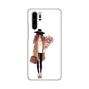 Maska Silikonska Print za Huawei P30 Pro Autumn Fashion Girl