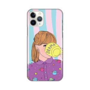 Maska Silikonska Print za iPhone 11 Pro 5.8 Drama Girl