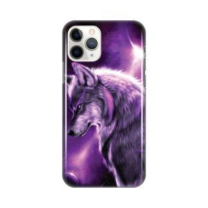 Maska Silikonska Print za iPhone 11 Pro 5.8 Purple Wolf