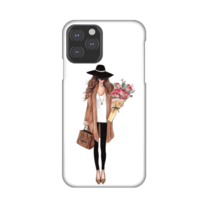 Maska Silikonska Print za iPhone 11 Pro 5.8 Autumn Fashion Girl