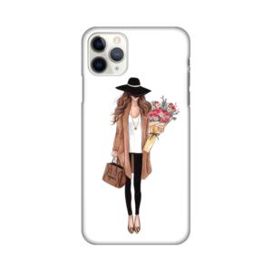 Maska Silikonska Print za iPhone 11 Pro Max 6.5 Autumn Fashion Girl