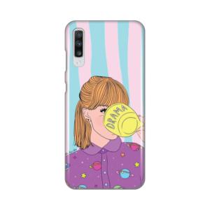 Maska Silikonska Print za Samsung A705F Galaxy A70 Drama Girl