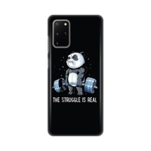 Maska Silikonska Print za Samsung G985F Galaxy S20 Plus Panda Gym