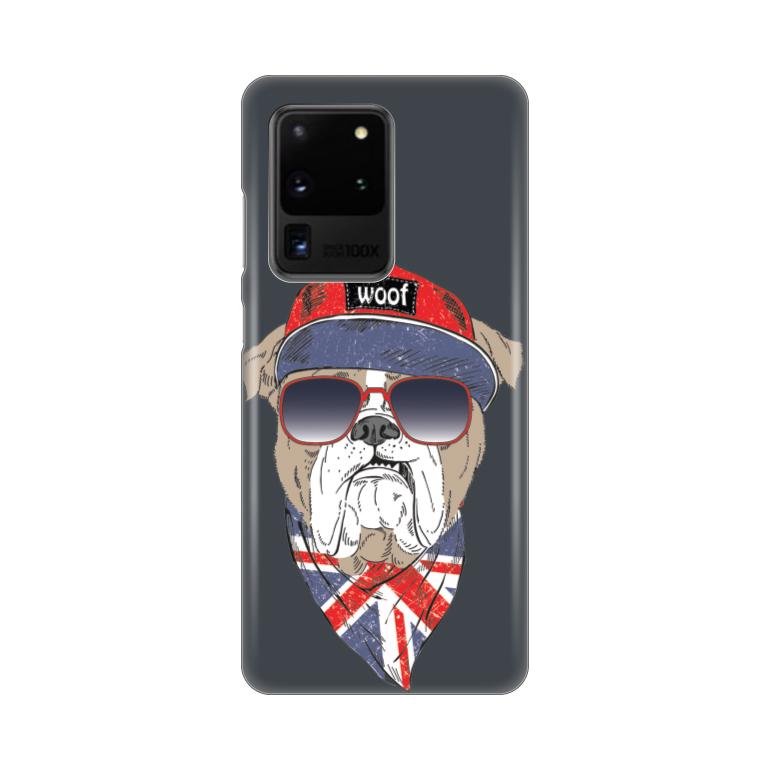 Maska Silikonska Print za Samsung G988F Galaxy S20 Ultra Woof Woof