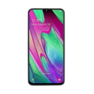 Samsung Galaxy A40 (4GB/64GB, White, 5.9″, Dual SIM, 16MP)