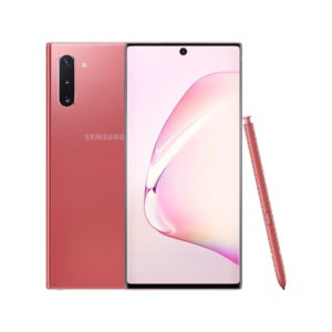 "Samsung Galaxy Note10 (8GB/256GB, Aura Pink, 6.3"", Dual SIM, 16MP)"