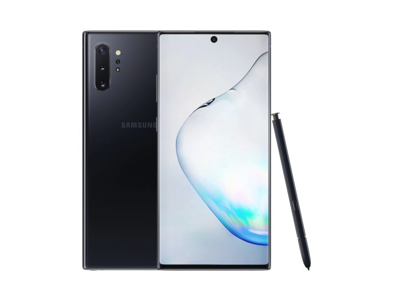"Samsung Galaxy Note10+ (12GB/256GB, Aura Black, 6.8"", Hybrid Dual SIM, 16MP)"