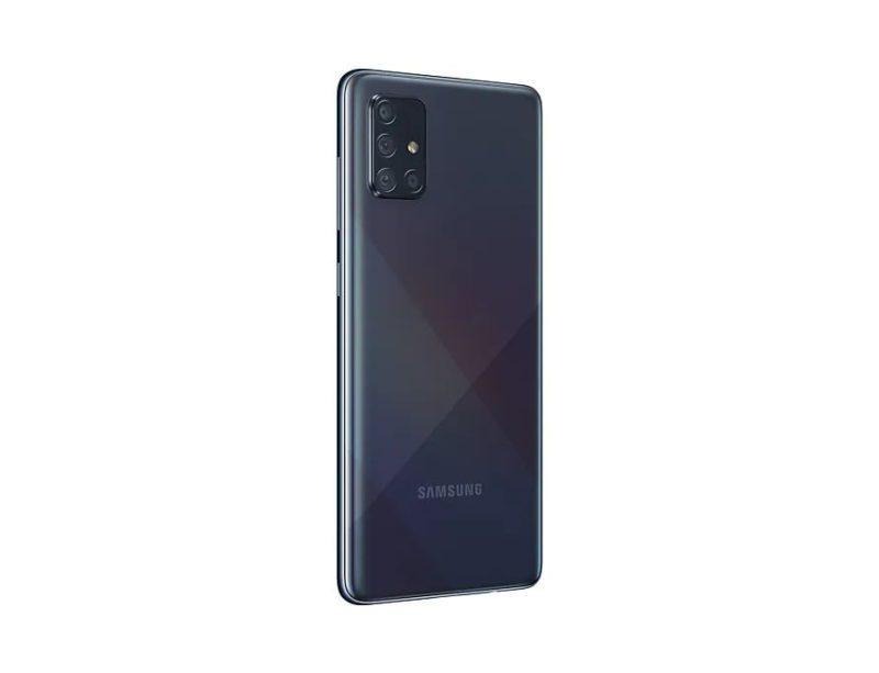 "Samsung Galaxy A71 (6GB/128GB, Prism Crush Black, 6.7"", Dual SIM, 64MP)"