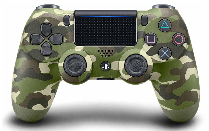 Sony Playstation 4 DUALSHOCK 4 GREEN CAMOUFLAGE