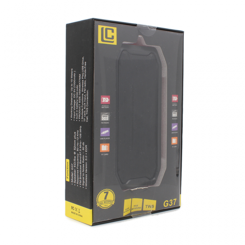 Bluetooth zvucnik G37 zeleni