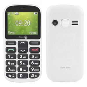 "Mobilni telefon Doro 1360 2.4 DS 0.08 Mpix 32 MB beli"""