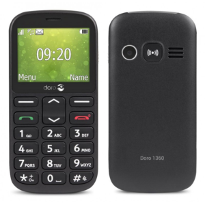 "Mobilni telefon Doro 1360 2.4 DS 0.08 Mpix 32 MB crni"""