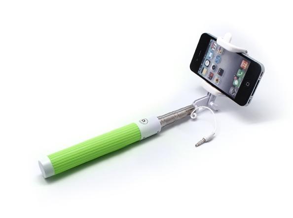 Selfie stick Z07-5 kabl 3.5mm zeleni