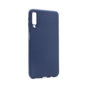 Maska Antislip za Samsung A750FN Galaxy A7 2018 tamno plava