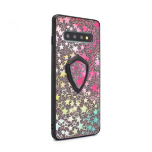 Maska Colorful Star za Samsung G973 S10 + holder crna