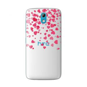 Maska silikonska Print Skin za HTC Desire 526 Valentines Cristal Case 008