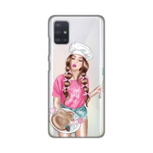 Maska Silikonska Print Skin za Samsung A515F Galaxy A51 Made With Love