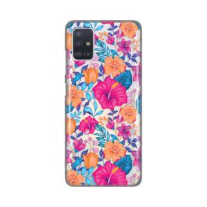 Maska Silikonska Print Skin za Samsung A515F Galaxy A51 Vintage Floral
