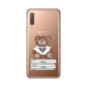 Maska Silikonska Print Skin za Samsung A750F Galaxy A7 2018 Fashion Bear