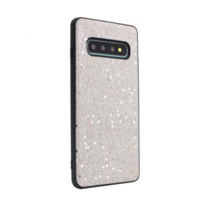 Maska Sparkle Shiny za Samsung G973 S10 srebrna