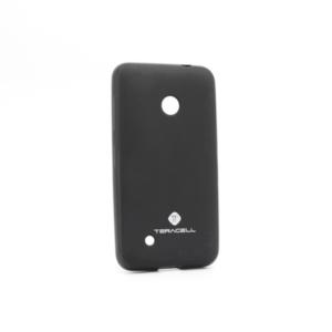 Maska Teracell Giulietta za Nokia 530 Lumia crna
