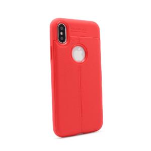 Maska Elegant men Exclusive za iPhone X crvena