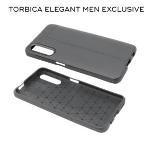 Maska Elegant men Exclusive za Xiaomi Redmi Note 9 crna