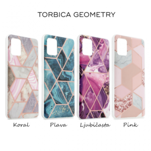 Maska Geometry za Samsung A307F/A505F/A507F Galaxy A30s/A50/A50s koral