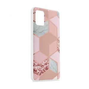 Maska Geometry za Samsung A515F Galaxy A51 pink