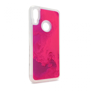 Maska Liquid color za Xiaomi Redmi Note 7 ljubicasto-pink