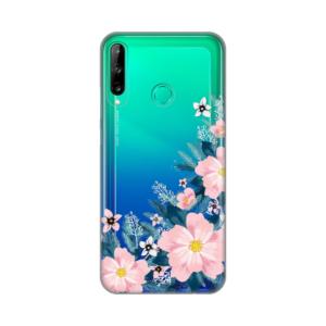 Maska Silikonska Print Skin Za Huawei P40 Lite E Bright Flowers