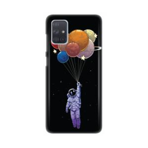 Maska Silikonska Print za Samsung A715F Galaxy A71 Space Float