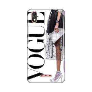 Maska Silikonska Print za Wiko Lenny 4 Plus Vogue Addict