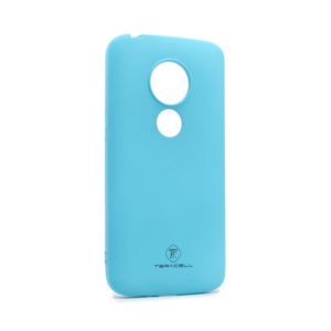 Maska Teracell Giulietta za Motorola Moto E5 Play mat svetlo plava