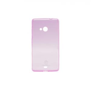 Maska Teracell Skin za Microsoft 535 Lumia roze