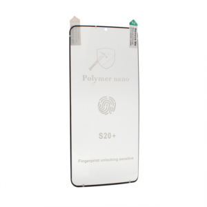 Folija Polymer Nano za Samsung G985 Galaxy S20 Plus crna