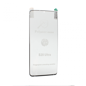 Folija Polymer Nano za Samsung G988 Galaxy S20 Ultra crna