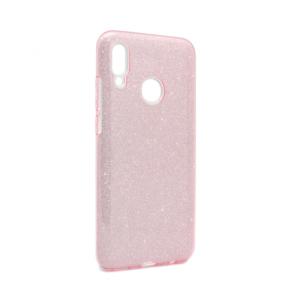 Maska Crystal Dust za Huawei Honor 10 Lite/P Smart 2019 roze