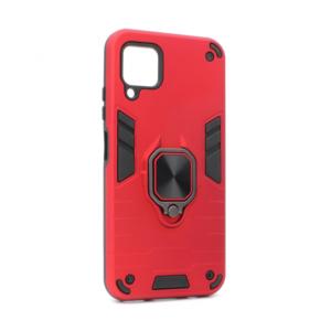 Maska Cube Ring za Huawei P40 Lite/Nova 6 SE crvena