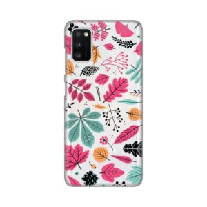 Maska Silikonska Print Skin za Samsung A415F Galaxy A41 Colorful Leaves