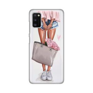 Maska Silikonska Print Skin za Samsung A415F Galaxy A41 Shopping Girl