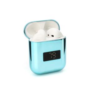 Bluetooth slusalice Airpods A88 metalic mirror plave