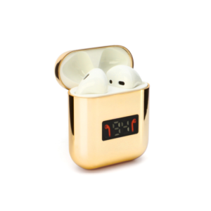 Bluetooth slusalice Airpods A88 metalic mirror zlatne