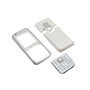 Maska za Nokia 6120 bela sa tastaturom