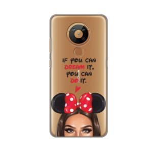 Maska Silikonska Print Skin za Nokia 5.3 Disney Girl