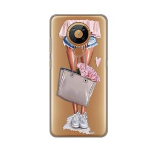 Maska Silikonska Print Skin za Nokia 5.3 Shopping Girl